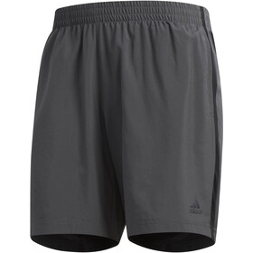 "adidas Own The Run Shorts 7"" Men grey six/black"